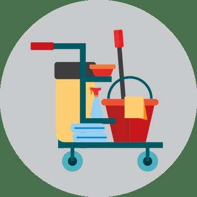 Productos de limpieza y hogar.