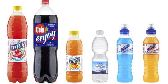 Bebidas marca Enjoy