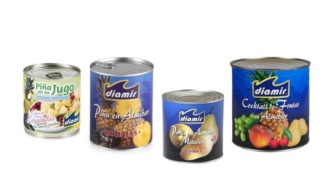 Conservas frutas Diamir