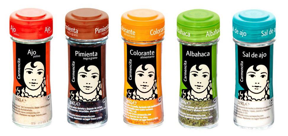 Distribuidores condimentos Carmencita