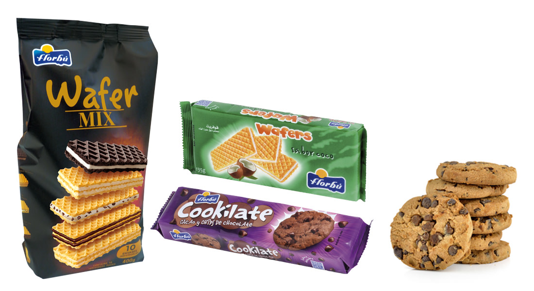 Distribuidores galletas Florbu