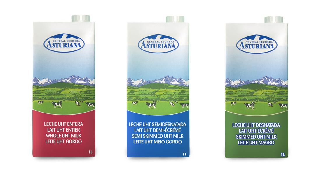 Distribuidores leche Asturiana
