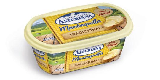 Distribuidores mantequilla La Asturiana