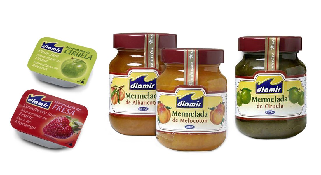 Distribuidores mermeladas Diamir