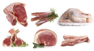 Carne refrigerada