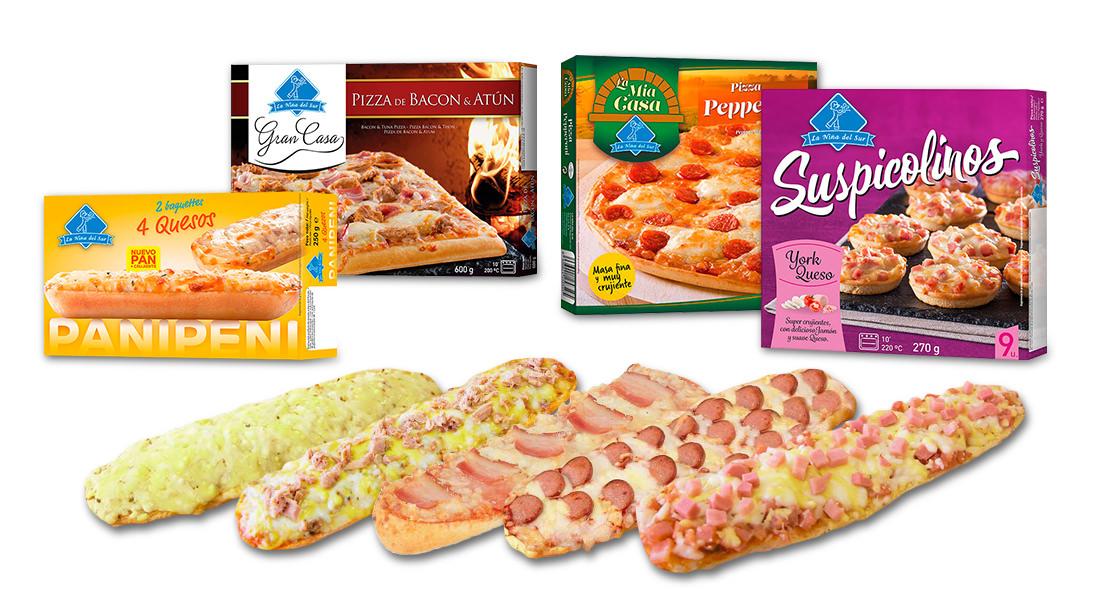 Pizzas La Niña del Sur