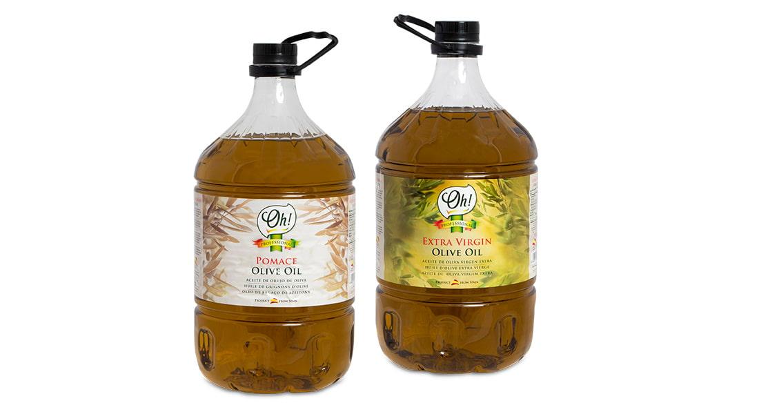 Aceite de oliva virgen y de orujo