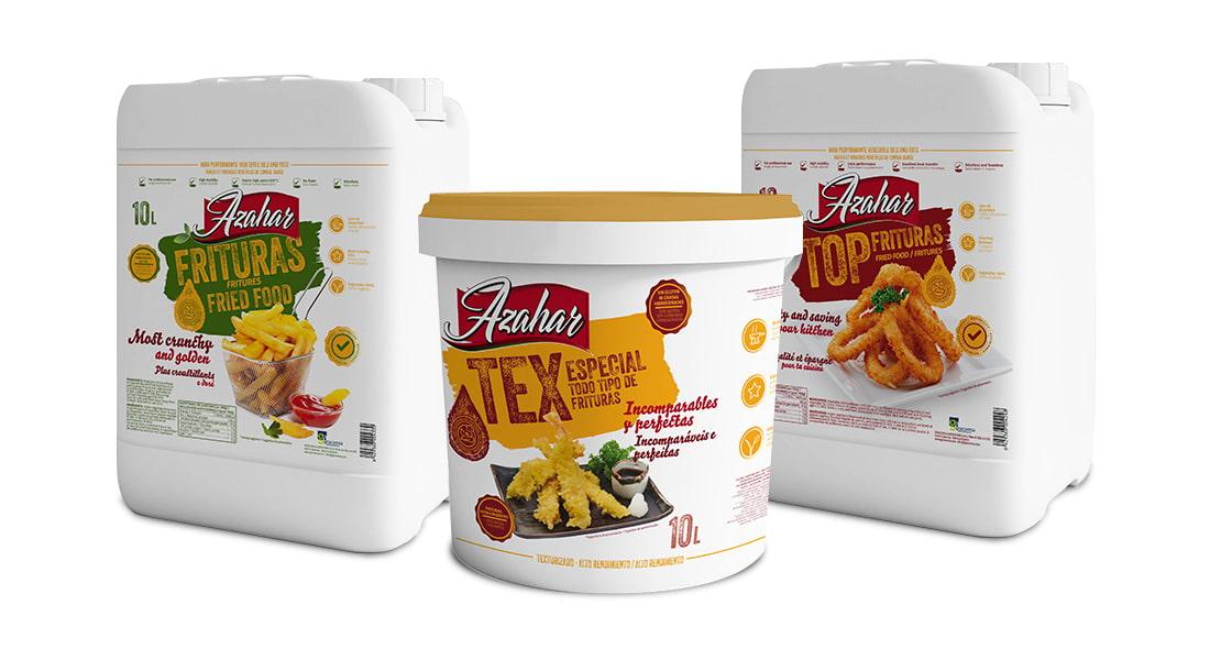 Mantequillas y aceites Azahar. Sector Horeca